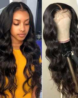 YYONG 30 32inch 13×4 Lace Front Human Hair Wigs For Black Women Remy Malaysian Body Wave 4×4 Lace Closure Wig HD Transparent Wig