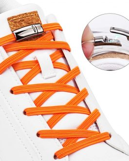 1 Pair Magnetic Shoelaces Elastic No Tie Shoe laces Kids and Adult Flat Sneakers Shoelace Quick Lazy Laces Magnetic Buckle