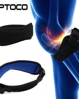 Adjustable Knee Pad Knee Pain Relief Patella Stabilizer Brace Support for Hiking Soccer Basketball Running Tennis Sport Outdoor