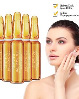 7Pcs 2ml Skin Care Dark Spot Corrective Ampoule Essence Set Collagen Anti Aging Wrinkle Fine Lines Serum Hydrating Smooth TSLM1 (14ml)